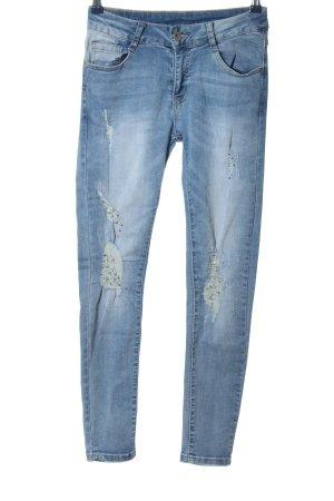 Monday Skinny Jeans blau Casual-Look
