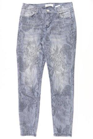 Monday Straight Jeans Größe 38 gestreift blau aus Baumwolle