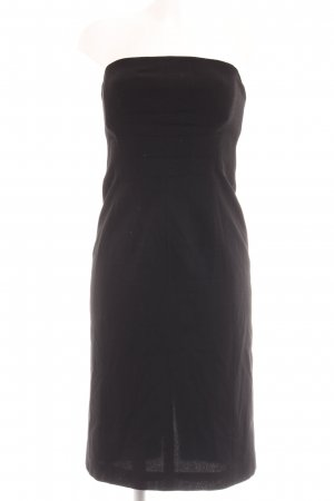 Mondi Bustierkleid schwarz Business-Look