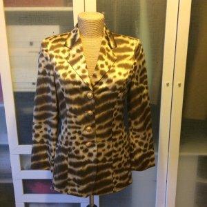 Mondi Leoparden Blazer aus Seide Gr. 38 top