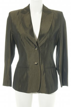 Mondi Sweatblazer khaki Glitzer-Optik