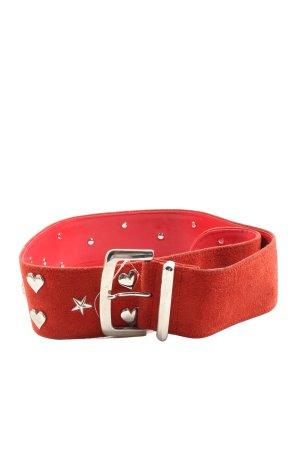 Mondi Cintura vita rosso stile casual