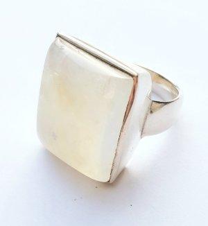 Mondstein Silber Ring - exklusives Highlight - Gr 62 - NEU mit Etikett