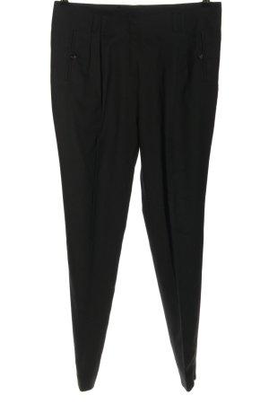 Mongrels in common Pantalone a pieghe nero stile professionale