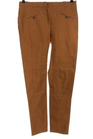 Mongrels in common Pantalone a vita alta marrone motivo a righe
