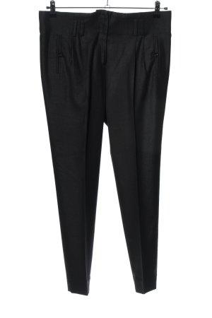 Mongrels in common Pantalone a vita alta nero stile professionale