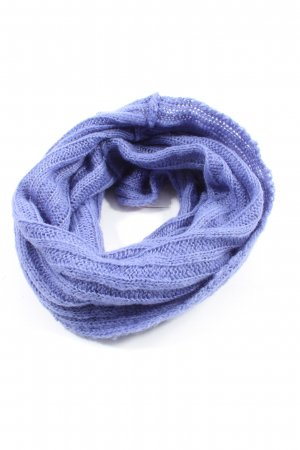 Monica Narducci Tube Scarf blue casual look