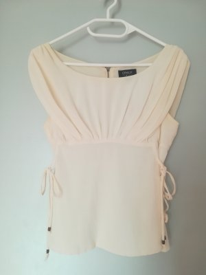 Only Blouse topje wolwit