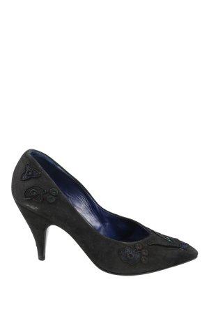 MONIQUE Spitz-Pumps schwarz Elegant