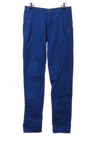 Monkee genes Baggy Pants blau Motivdruck Casual-Look
