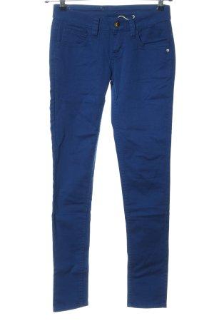 Monkee genes Pantalon cigarette bleu style décontracté