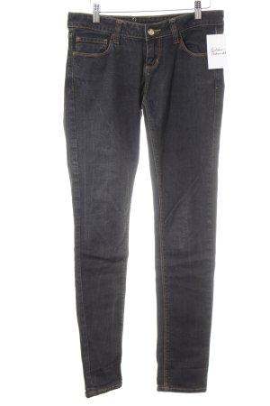 Monkee genes Jeans a sigaretta blu scuro stile casual