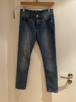 Monkee genes Dopasowane jeansy błękitny-jasnoniebieski