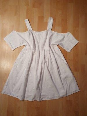 Monki Abito baby-doll bianco