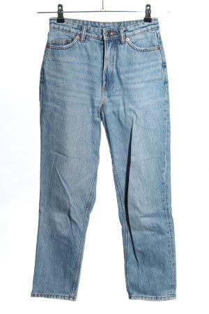 Monki 7/8 Jeans blau Casual-Look