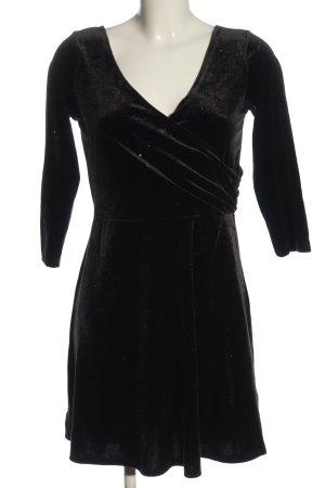 Monki Vestido línea A negro elegante