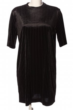 Monki Babydoll Dress brown striped pattern casual look