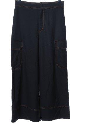 Monki Baggy broek blauw casual uitstraling