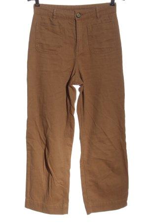 Monki Jeans baggy brun style décontracté