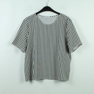 MONKI Bluse Gr. M weiß schwarz oversized (20/10/248*)