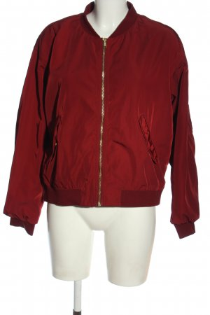 Monki Giacca bomber rosso stile casual