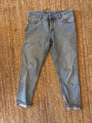 Monki Boyfriend Jeans Light Wash