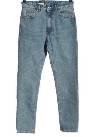 Monki Jeans boyfriend bleu style décontracté