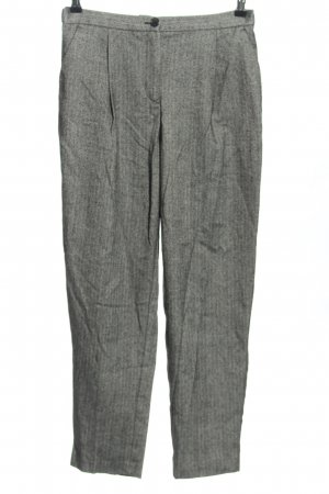 Monki Pleated Trousers light grey allover print business style