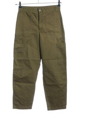 Monki Pantalone cargo cachi stile casual