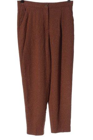 Monki Pantalon chinos brun moucheté style décontracté
