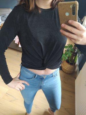 Monki T-shirt court noir