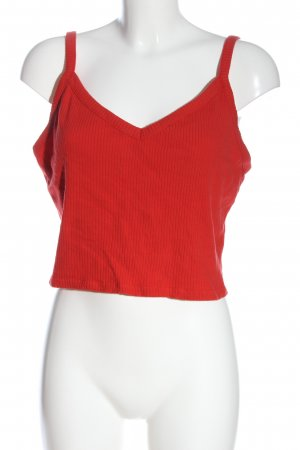 Monki Cropped Top rot Casual-Look