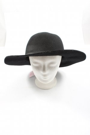 Monki Sombrero de fieltro negro look casual