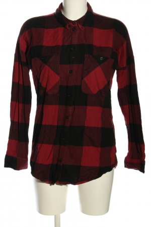 Monki Flannel Shirt red-black check pattern casual look