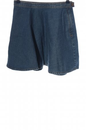 Monki Glockenrock blau Casual-Look