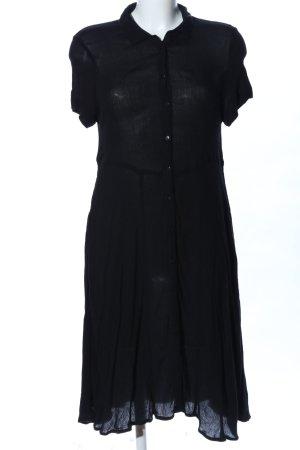 Monki Shirtwaist dress black business style