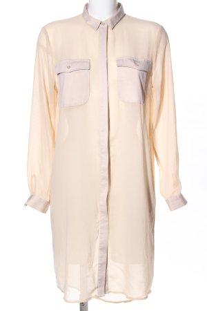 Monki Shirtwaist dress cream casual look