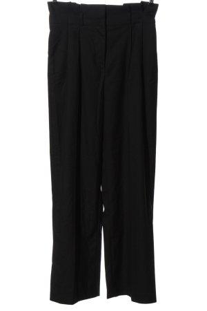 Monki Pantalone a vita alta nero stile professionale