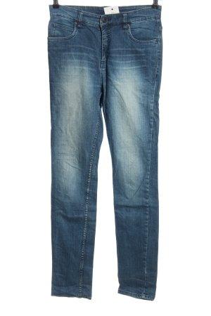 Monki High Waist Jeans blau Casual-Look
