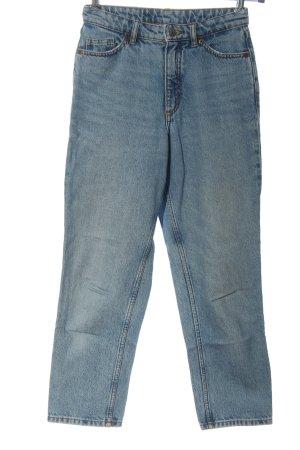 Monki High Waist Jeans blue casual look