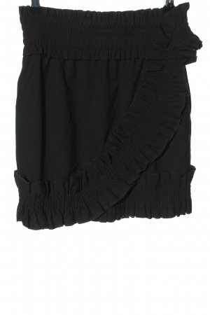Monki High Waist Rock schwarz Casual-Look