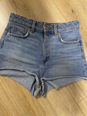 Monki High waist shorts