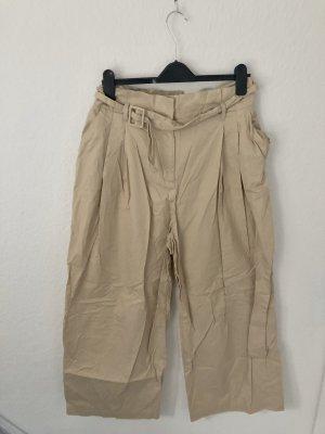Monki Pantalone culotte crema-beige chiaro