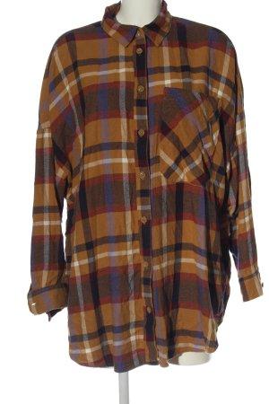 Monki Lumberjack Shirt allover print elegant