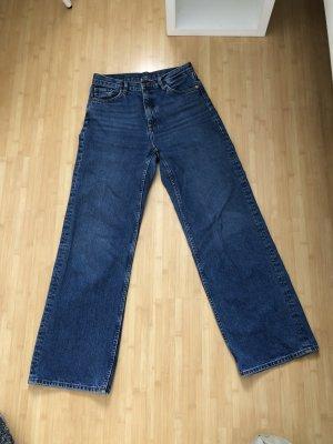 Monki Jeans a gamba dritta multicolore
