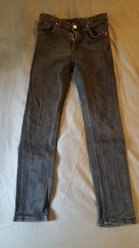 Monki Jeans High Waist in used black