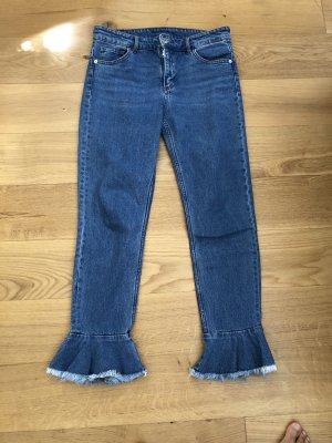 Monki Jeans mit tollem Beinabschluss W31