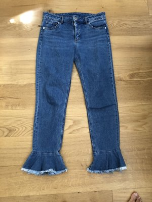 Monki Hoge taille jeans veelkleurig