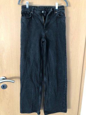 Monki Jeans a gamba dritta nero