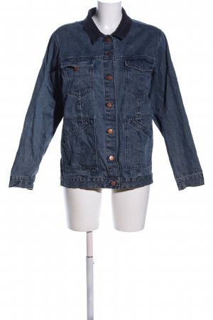 Monki Jeansjacke blau Casual-Look
